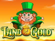 В онлайн-клубе с биткоин бездепозитным бонусом Land Of Gold